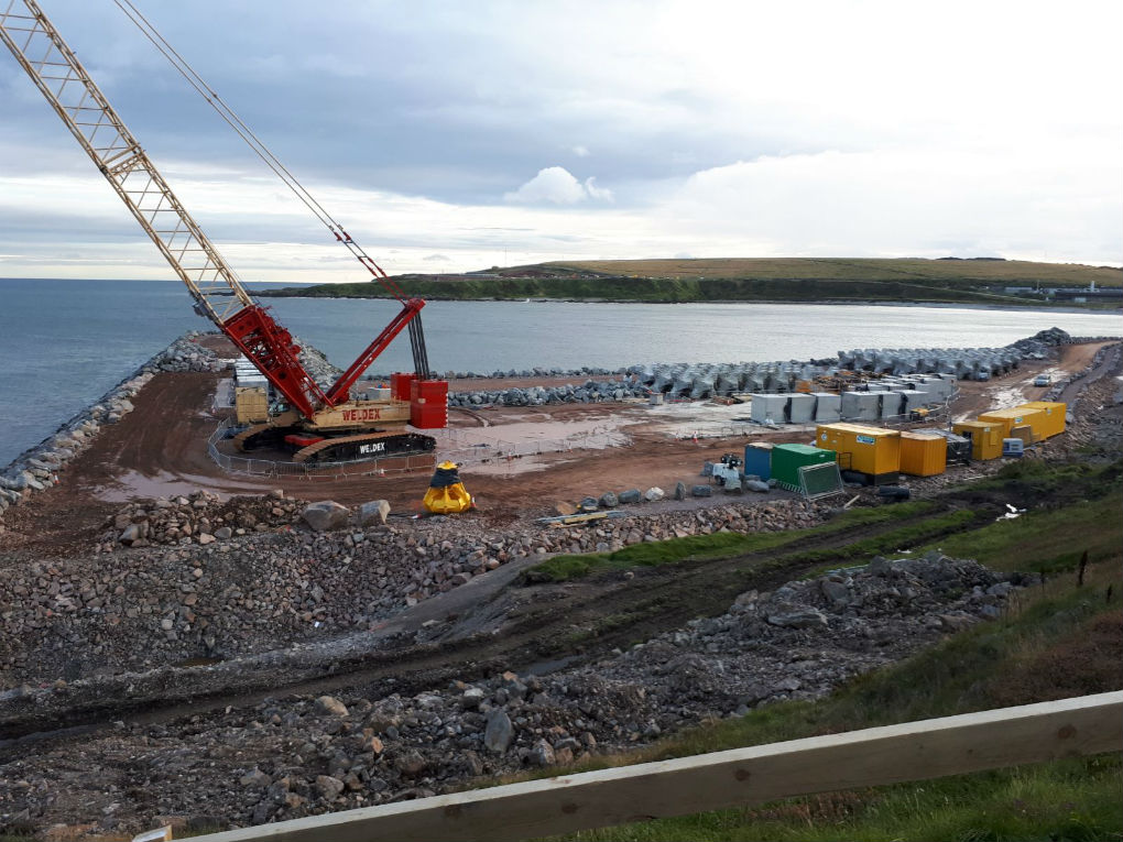 Aberdeen Harbour Expansion Works