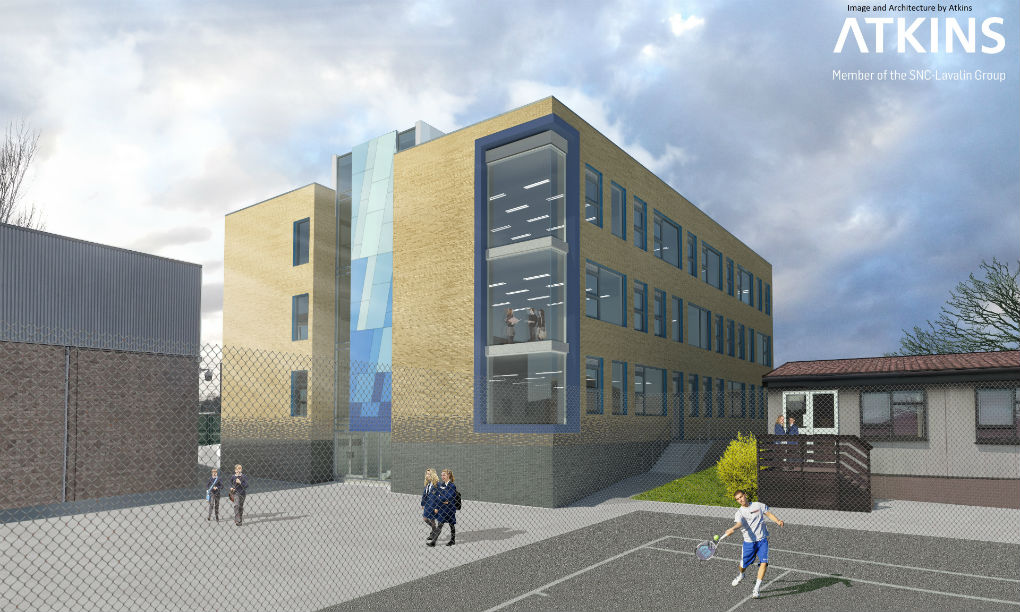 Structural engineering design for Furze Platt School