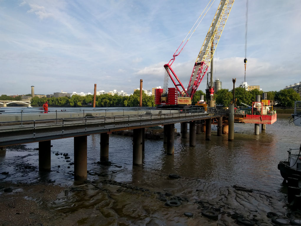 Nomination for London Civil Engineering Awards 2018
