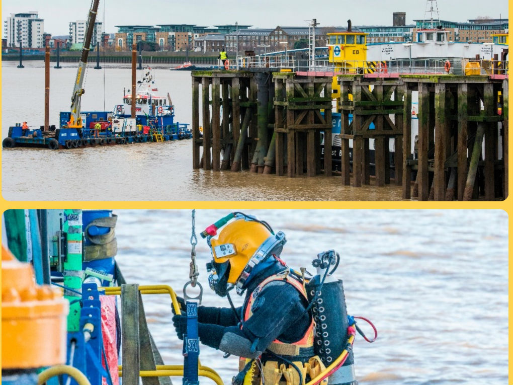 Search for WW2 bombs at Woolwich
